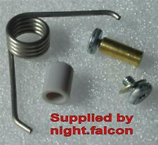 NEW - GHD MINI MS - HINGE SPRING, BOLT & SCREW KIT, for BROKEN,FAULTY,REPAIR.