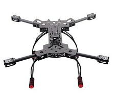 F11101 HMF600 RC Drone Quadcopter Frame Kit Carbon Fiber Foldable H-Shaped