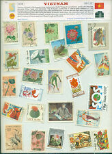 Vietnam (25Different Large)-STAMP PACKET