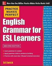 English Grammar for ESL Learners by Ed Swick (2013, Paperback)
