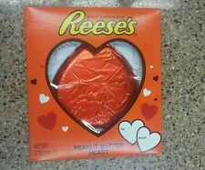 Giant SOLID Reese's Peanut Butter Cup Valentine Heart upside down mistake 5oz