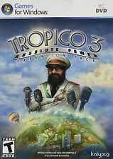 Tropico 3 Absolute Power PC Games Window 10 8 7 Vista XP Computer expansion pack