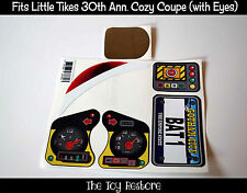 Replacement Decal Stickers fits Little Tikes 30th Cozy Coupe Batman Inspired