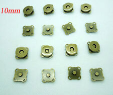 20sets 10mm  Bronze Magnetic Snaps Bag Purse Sew On Magnetic Snaps Buttons