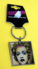 MADONNA CELEBRATIONS OFFICIAL ORIGINAL KEYRING KEY RING BLONDE HAIR MATERIAL GIR