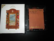 Rare HTF Hallmark 2010 Santa's Armoire 2 Artist Signed In Store Limited Brown