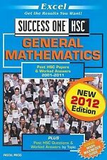 Excel HSC - General Mathematics: Past HSC Papers & Worked Answers 2001-2012