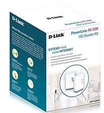 D-Link DHP-509AV/B AV 500 HD PowerLine Starter Kit - Wirless Adapters Wifi Plug