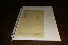 JANUARY 1960 TEXAS AND PACIFIC RAILWAY MIDLAND TEXAS TRAIN ORDER