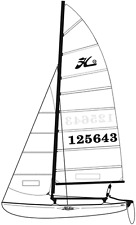 Hobie Cat 16 Main Sail Batten Set