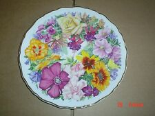 Royal Albert Collectors Plate BIRTHDAY BOUQUET - A BOUQUET FOR THE QUEEN MOTHER