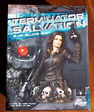 TERMINATOR SALVATION. BLAIR WILLIAMS BUST. LIMITED EDITION 630/3000, NEW IN BOX