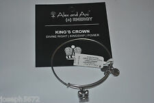 Alex and Ani Russian Silver King's Crown CZ Bracelet NWT
