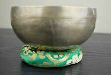 "Hand Hammered Singing Bowl Nepal  Free Cushion-Mallet 6"" FREE SHIPPING"