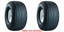 (TWO) 20x8.00-10 20x8-10  Carlisle Turf Master 4ply Rated Lawn Mower Tires