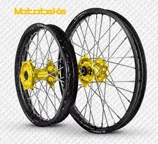 SUZUKI MX WHEELS SET RMZ250 RMZ450 ANY RIM/HUB COLOR COMBO