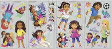 DORA THE EXPLORER Diego & Friends wall stickers 20 big decals GROWN UP decor
