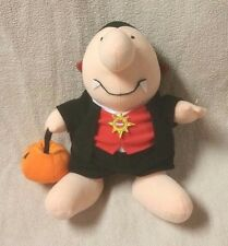 "ZIGGY 12"" Plush Stuffed Toy Doll VAMIPIRE DRACULA Halloween 2009 Nanco"