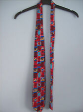 Tie Novelty Tie Mr Men Little Miss by Tie Rack Made In Italy 100% Silk 1996 New
