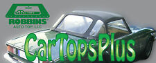 1971-1980 Triumph Spitfire MK IV Convertible Top & Plastic Window, Black Vinyl
