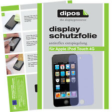 2x Apple iPod Touch 4G screen protector protection guard anti glare