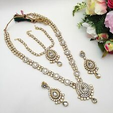 Indian Bridal Costume Fashion Jewellery Party Ethnic Wear Necklace Set