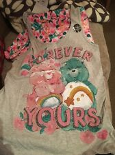 care bear pyjamas Shorts And Top Set 12-14