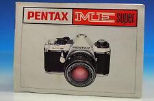 Pentax ME Super Bedienungsanleitung german manual - (101856)