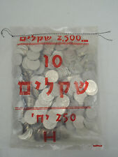 1984 10 Sheqalim Jewish Personalities HERZL/HERZ'L Original Sealed Bag 250 coins