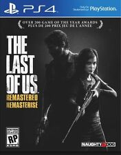 The Last of Us Remastered PS4 Sony PlayStation 4 Brand New Factory Sealed
