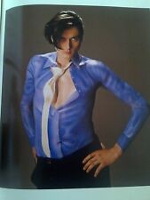 Brett Anderson Suede Body Painted Shirt 24x21cm from Book to Frame?