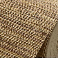 Natural string wood linen woven chinoiserie grass cloth textured wallpaper #DF