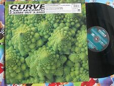 Curve ‎– Faît Accompli Anxious Records ANXT 36 UK Vinyl 12inch  Maxi-Single
