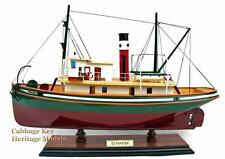 Tugboat SS Master, Steam Tugboat, built 1922, Beautiful Wooden Model. built 20""