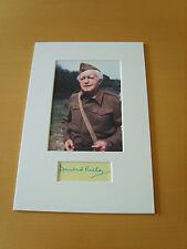 Dads Army Arnold Ridley Genuine Autograph - UACC / AFTAL.