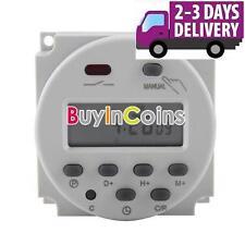 Nouveau lcd digital power programmable timer ac 12V 16A time relais interrupteur