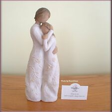CLOSE TO ME MOM & DAUGHTER FIGURINE FROM WILLOW TREE® ANGELS  FREE U.S. SHIPPING