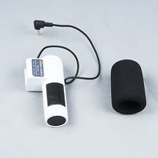 White Mini External Stereo Microphone For For Canon Nikon Sony 3.5mm MIC Jack