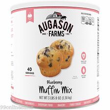 Augason Farms Emergency Disaster Survival Food Supply Blueberry Muffin Bread Mix