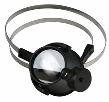 Led 15X Magnifier Eye Loupe w/ Head Band Jewelers Magnifying Glass Watchmakers x