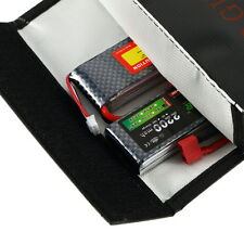 7''x9'' RC LiPo Battery Guard Charging Explosion Protection Bags Safe Fire Proof