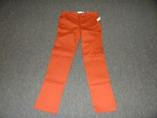 BOYS SIZE 18 SKINNY BRICK RED KHAKI PANTS BY OLD NAVY **NEW WITH TAGS**
