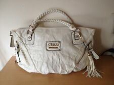 Used - Bag GUESS Bolso - 100% PVC - White color Blanco - Usado