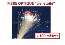 Rouleau de 100 mètres fibre optique ciel étoilé diam 1,5mm