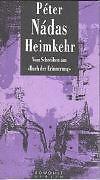 PETER NADAS - HEIMKEHR
