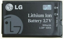 Replacement 430A OEM LG 3.7V 900mAh Lithium Ion Battery Model # LGIP-430A