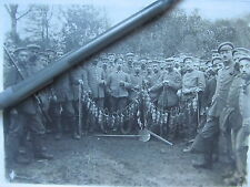 *** Super WWI Photo, GERMAN SOLDIERS AFTER RAT HUNTING IN TRENCHES ***