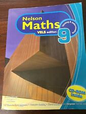 NELSON MATHS VELS EDITION 9 Thinking and Understanding Book & CD Swan Adamson