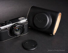 Genuine real Leather Full Camera Case Camera bag for Pentax MX-1 MX1 Bottom Open