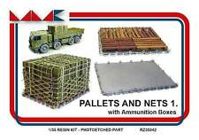 Pallets and nets No.1 (ammunition boxes) 1/35 MK Models resin RZ35042 modern